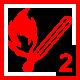 Feuer 2Wald: kleiner Flächen-/Waldbrand ohne Gefahr der weitflächigen Ausbreitung; Unterholz
