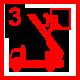 Feuer 3Y: Feuer 2/3 mit Menschenleben in Gefahr