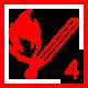 Feuer 4Wald: Flächen-/Waldbrand mit Gefahr der weitflächigen Ausbreitung