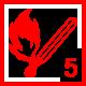 Feuer 5Wald: ausgedehnter Wald-/Flächenbrand
